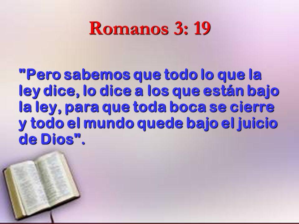 Romanos 3: 19