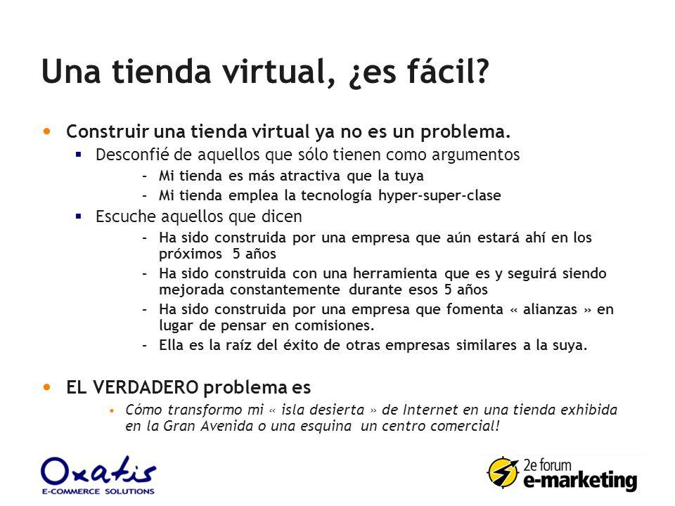 Una tienda virtual, ¿es fácil