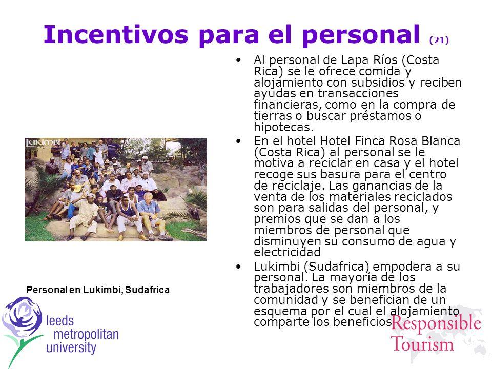 Incentivos para el personal (21)
