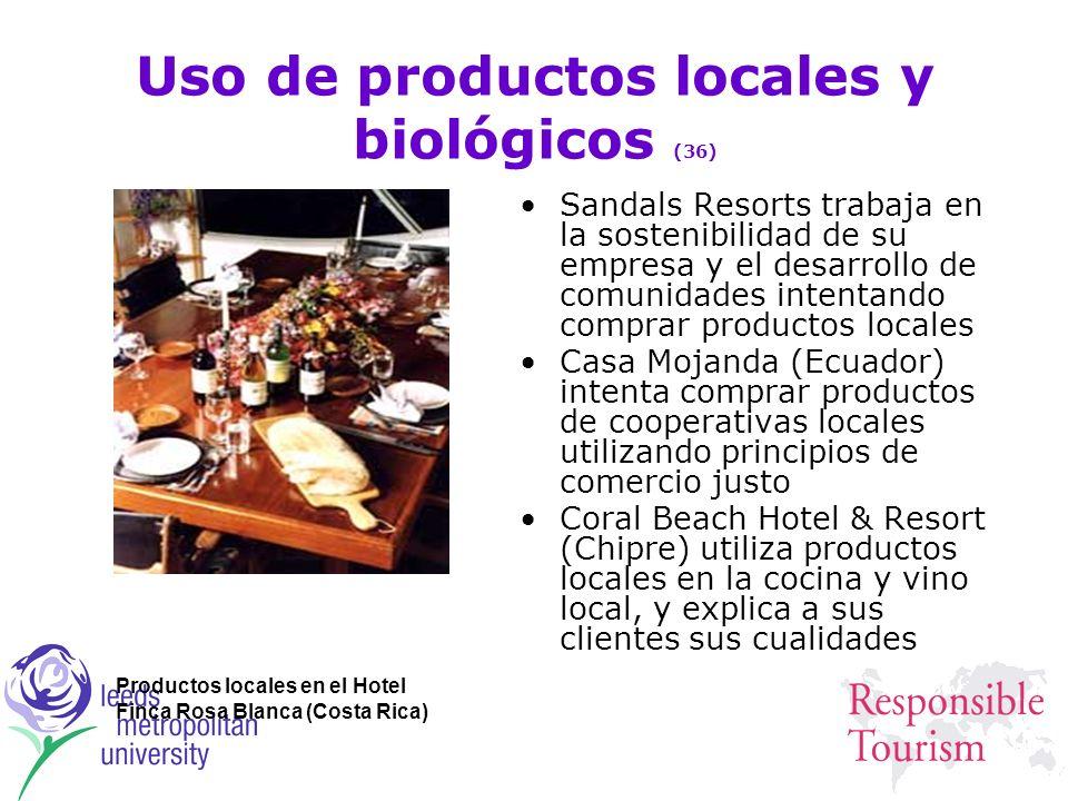 Uso de productos locales y biológicos (36)