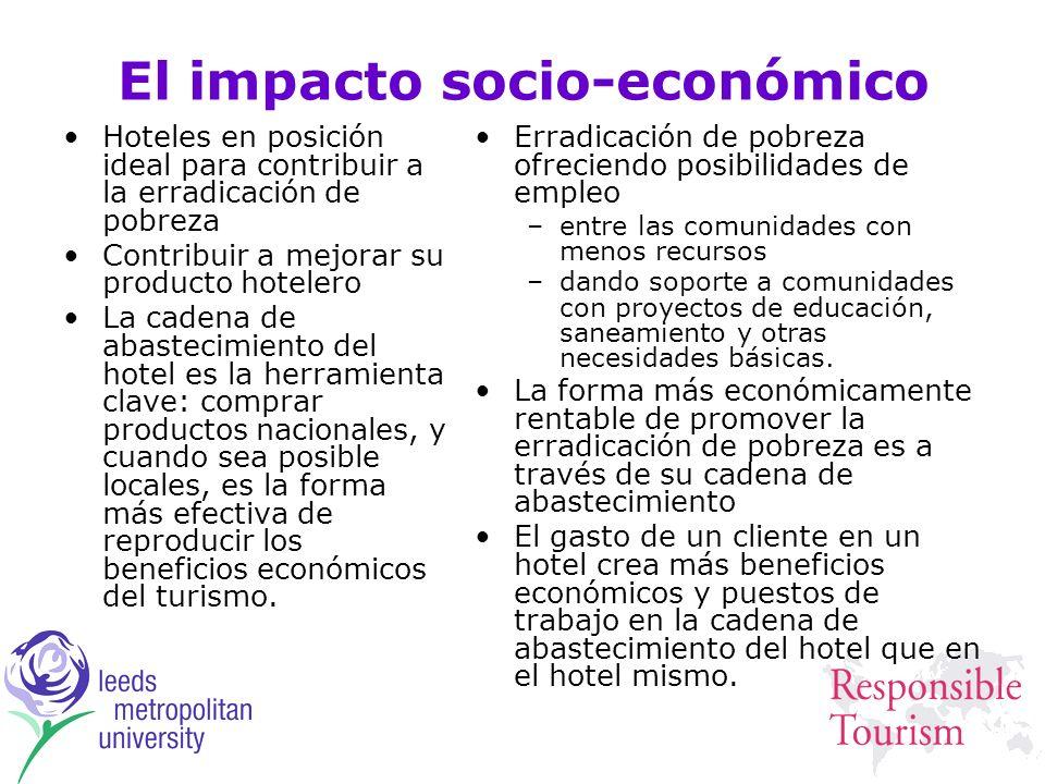 El impacto socio-económico