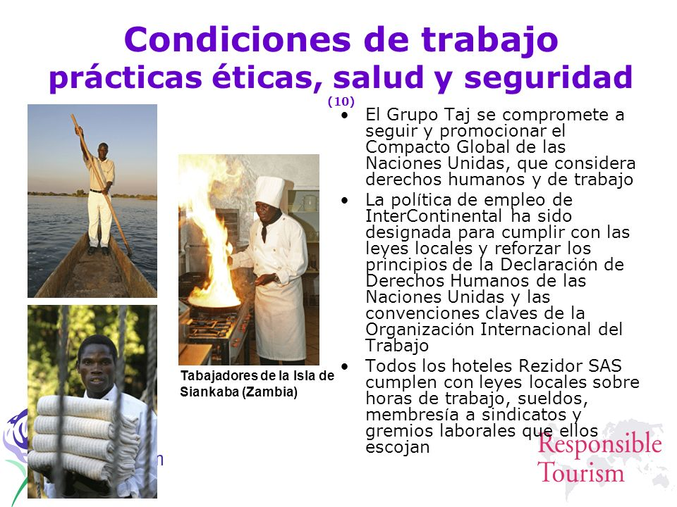 Condiciones de trabajo prácticas éticas, salud y seguridad (10)