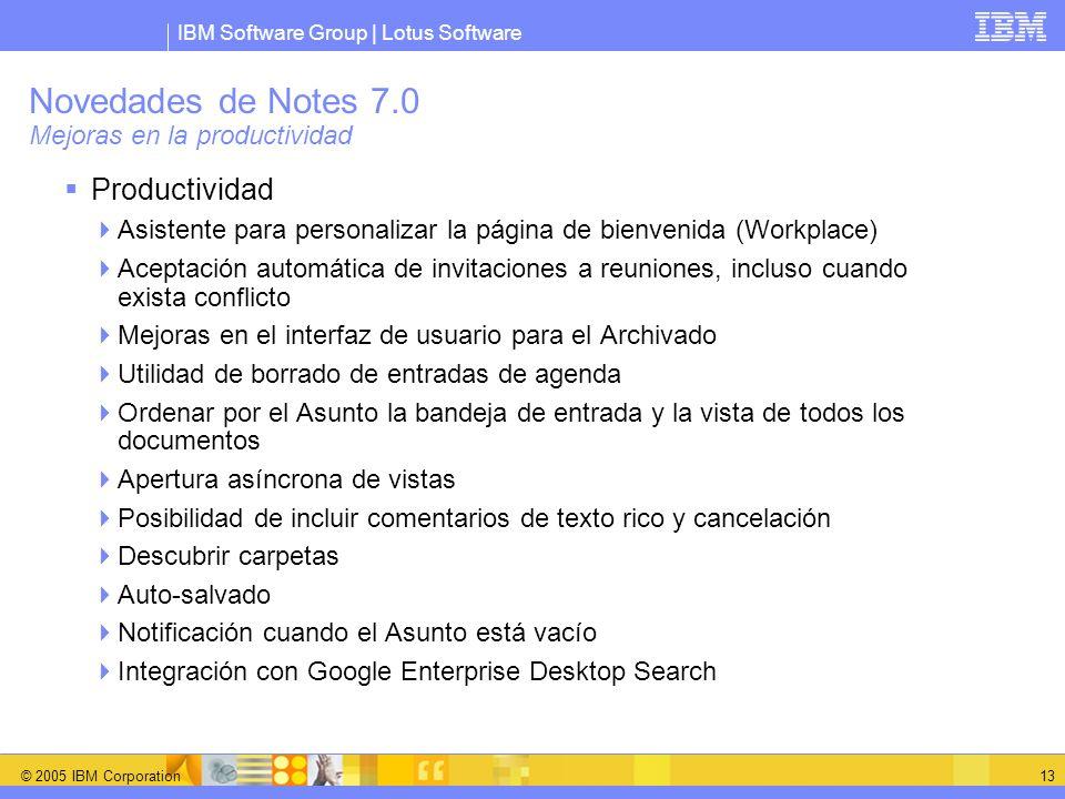 Novedades de Notes 7.0 Mejoras en la productividad