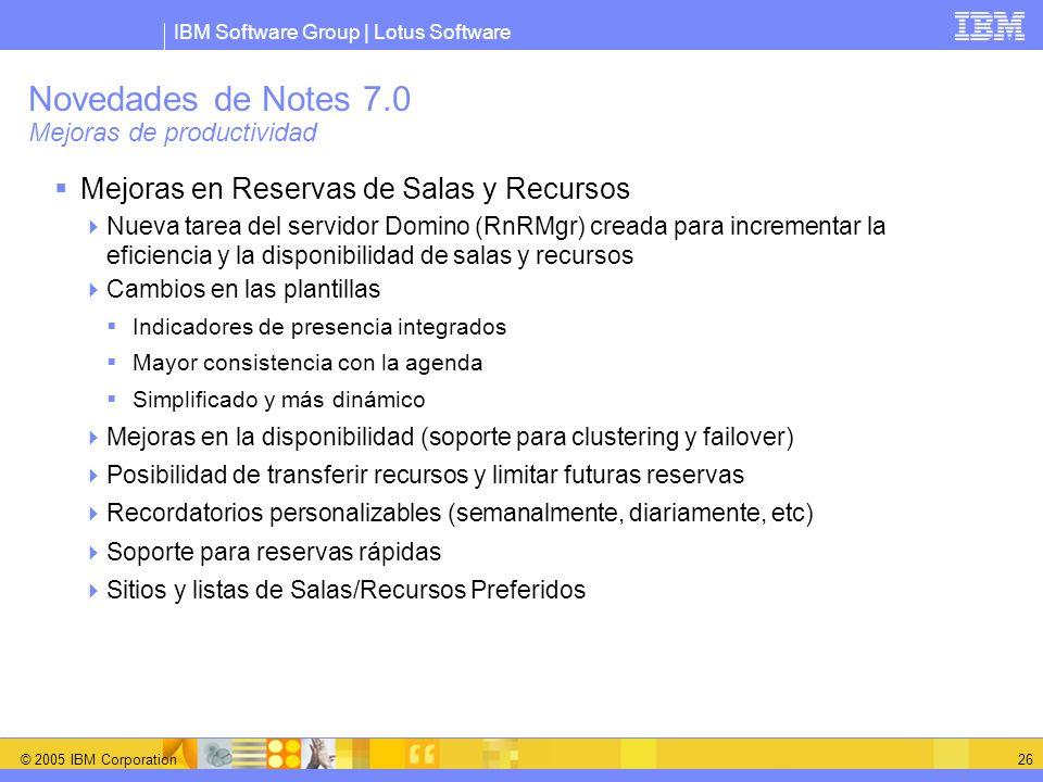Novedades de Notes 7.0 Mejoras de productividad