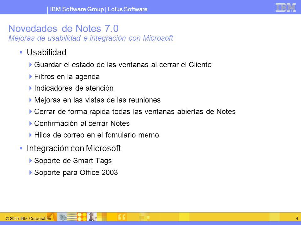 Novedades de Notes 7.0 Mejoras de usabilidad e integración con Microsoft