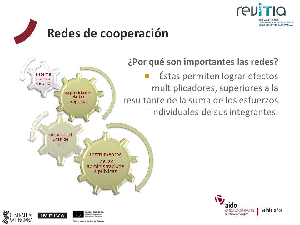 Redes de cooperación ¿Por qué son importantes las redes