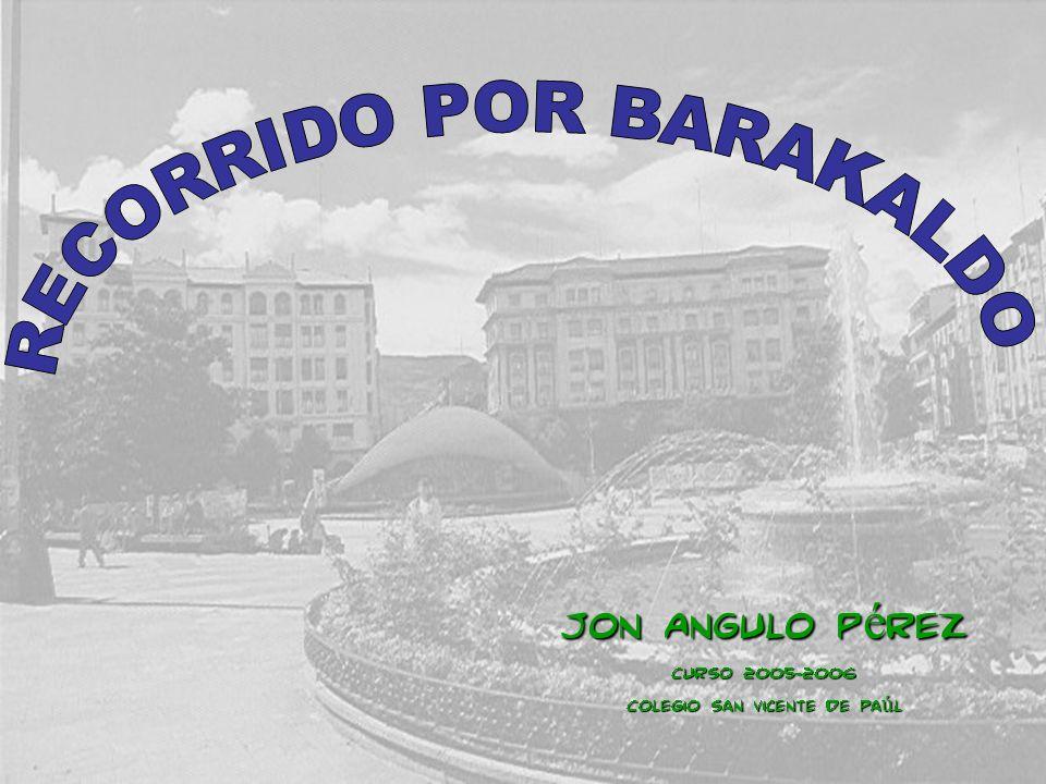 Jon Angulo Pérez Curso 2005-2006 Colegio san Vicente de Paúl