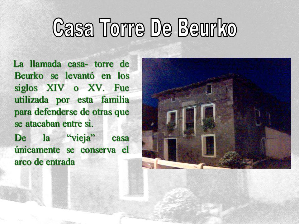 Casa Torre De Beurko