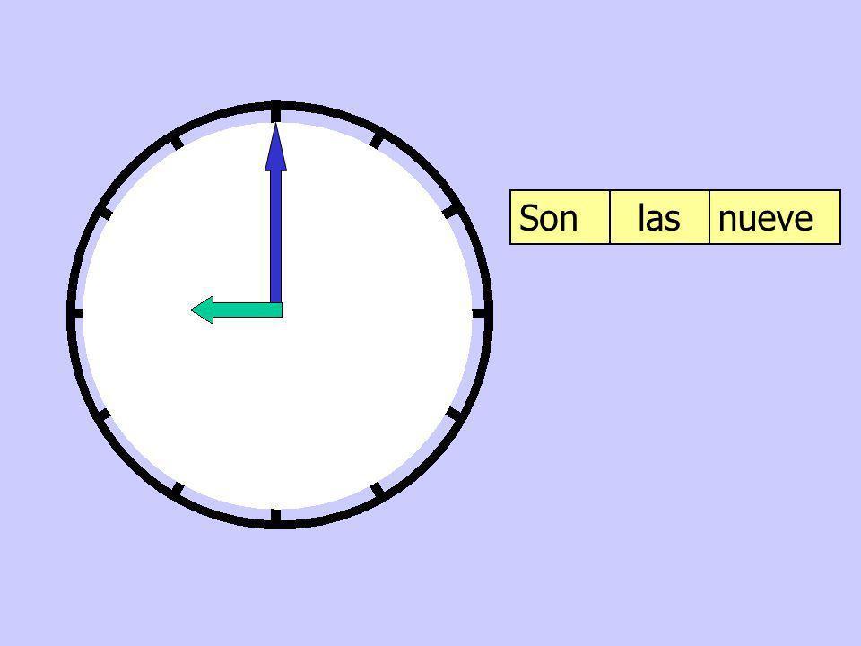Son las nueve