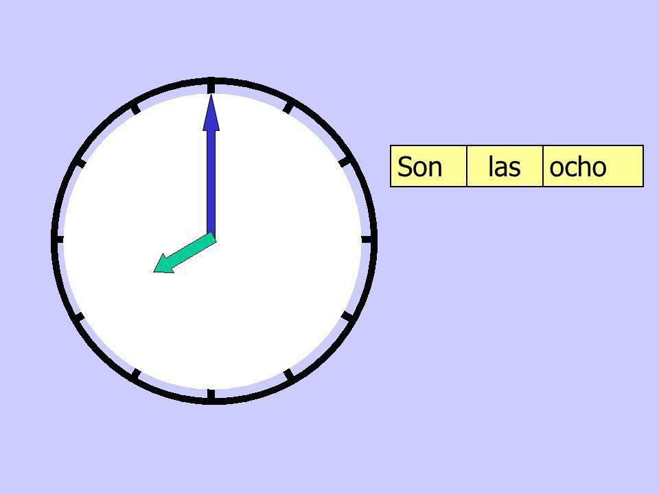Son las ocho