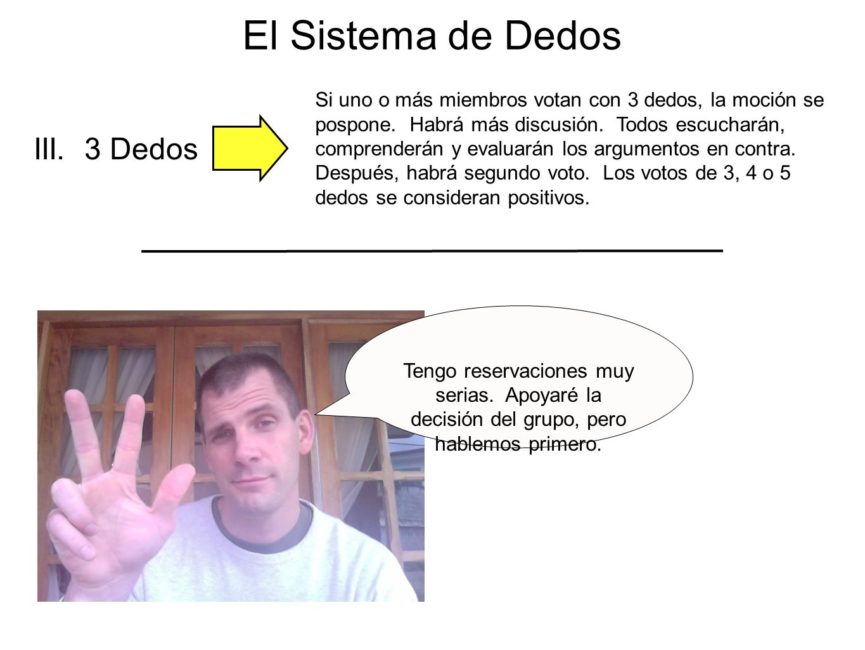 El Sistema de Dedos III. 3 Dedos