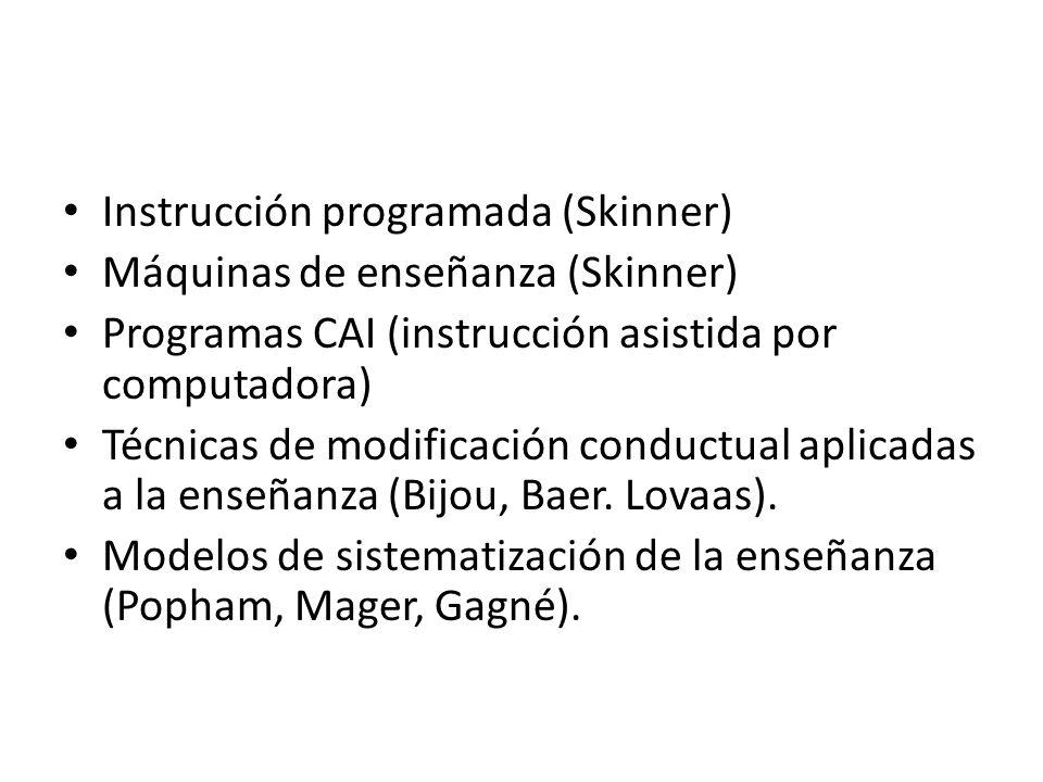 Instrucción programada (Skinner)