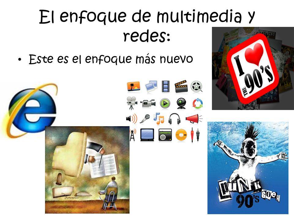 El enfoque de multimedia y redes: