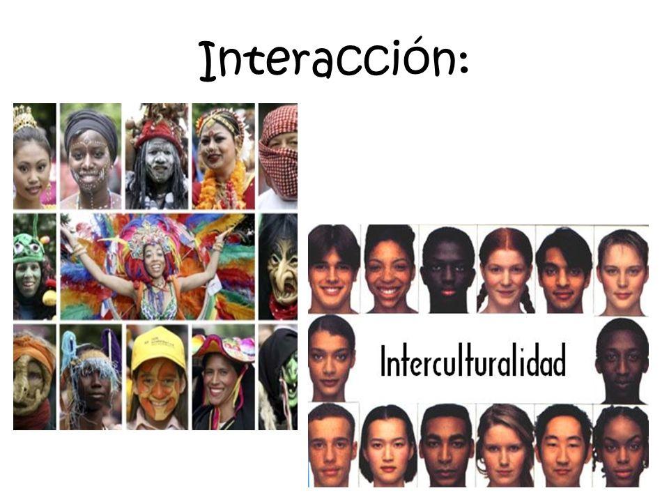 Interacción: