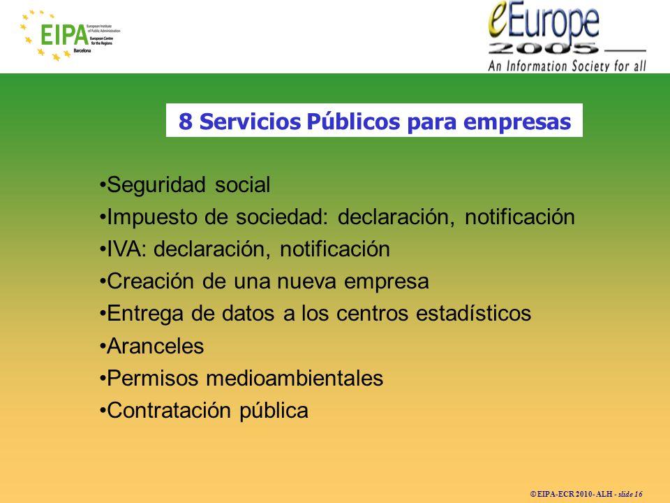 8 Servicios Públicos para empresas