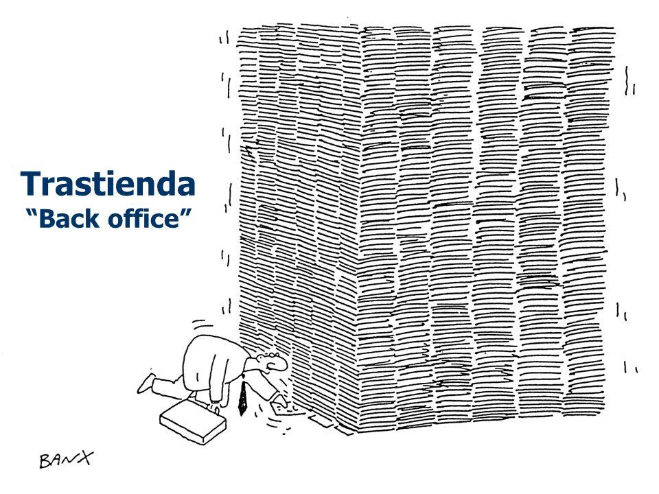 Trastienda Back office