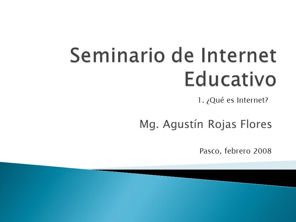 Seminario de Internet Educativo