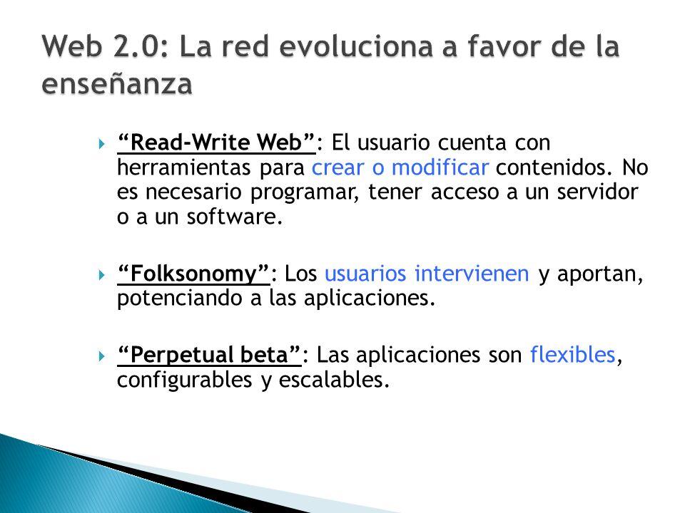 Web 2.0: La red evoluciona a favor de la enseñanza