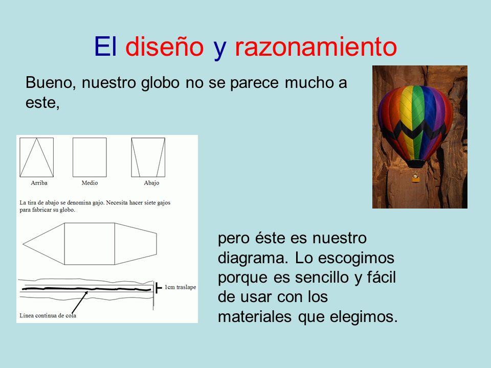 El diseño y razonamiento