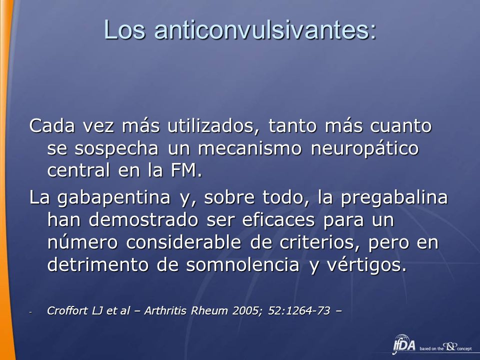 Los anticonvulsivantes: