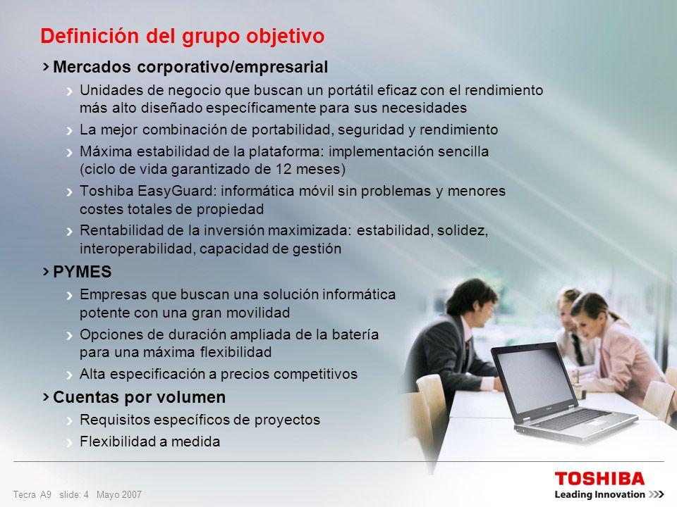 Definición del grupo objetivo