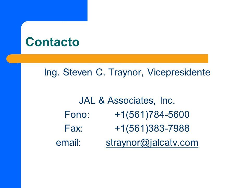 Ing. Steven C. Traynor, Vicepresidente
