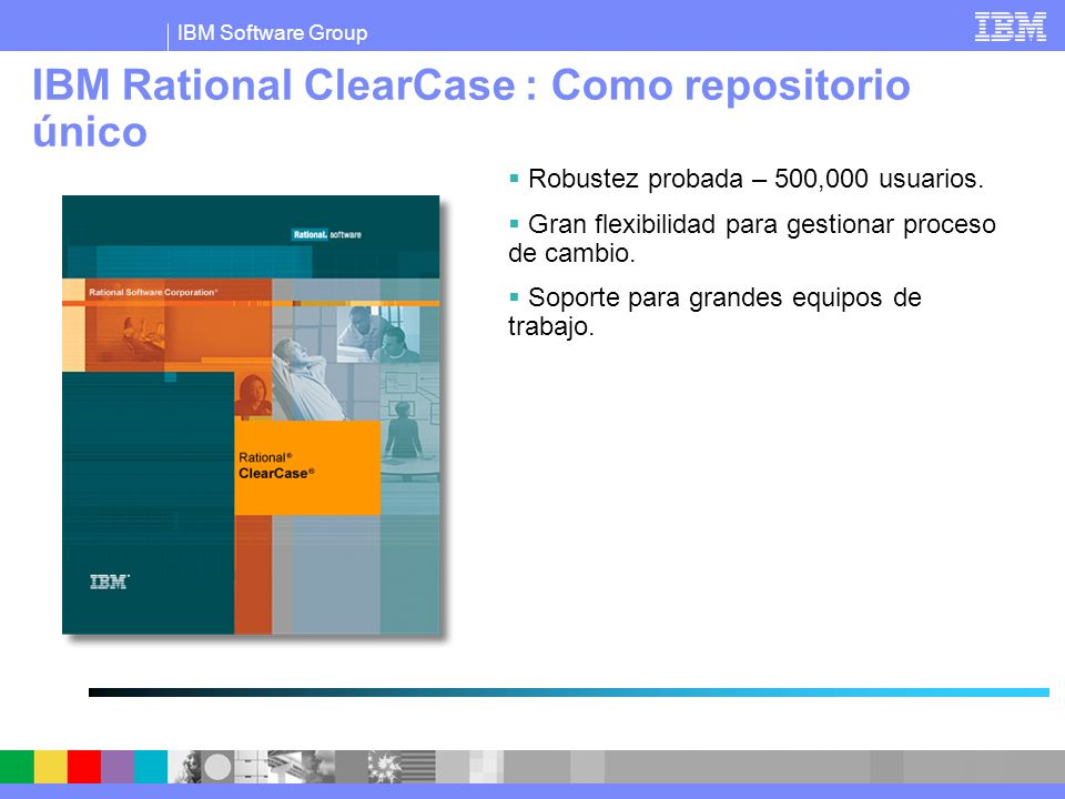 IBM Rational ClearCase : Como repositorio único