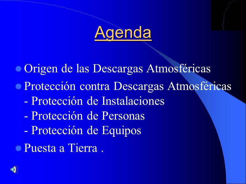 Agenda Origen de las Descargas Atmosféricas