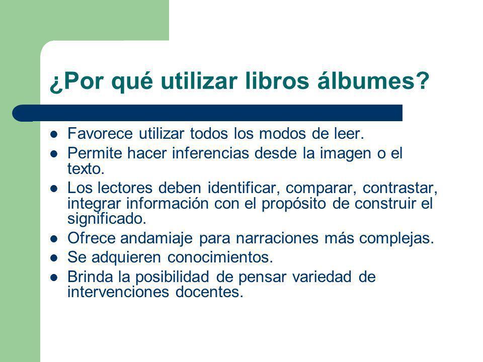 ¿Por qué utilizar libros álbumes