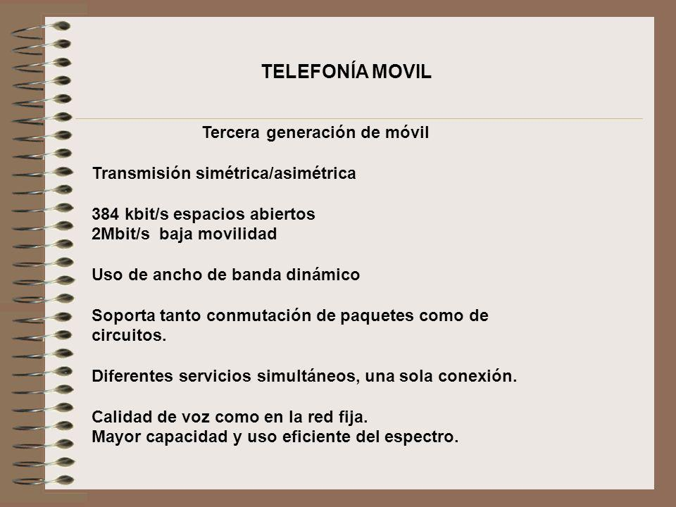 Tercera generación de móvil