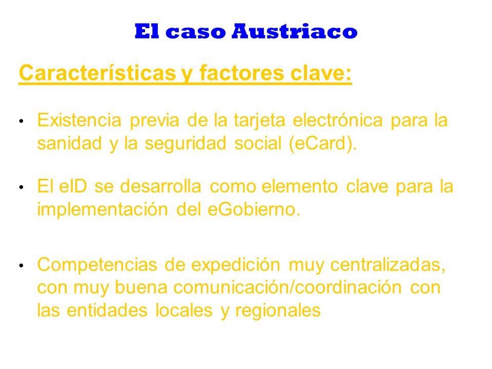 Características y factores clave: