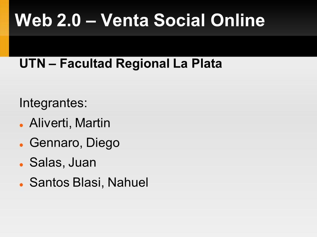 Web 2.0 – Venta Social Online