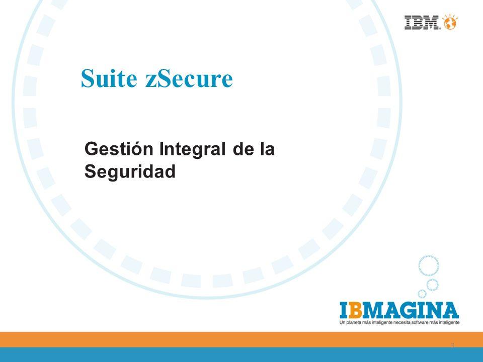 Suite zSecure Gestión Integral de la Seguridad