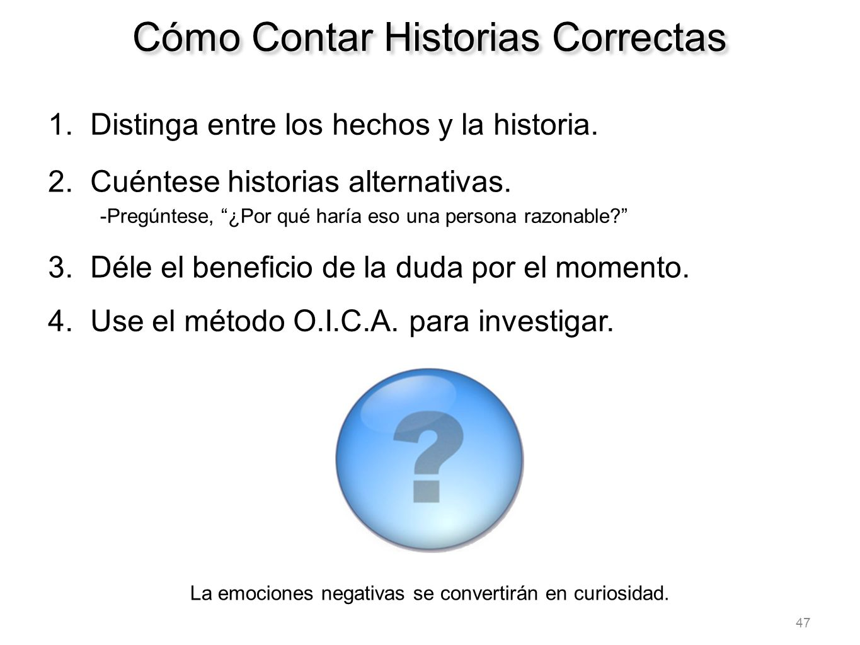 Cómo Contar Historias Correctas