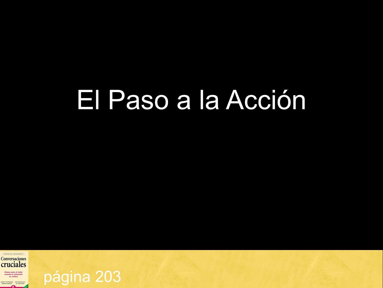 El Paso a la Acción página 203