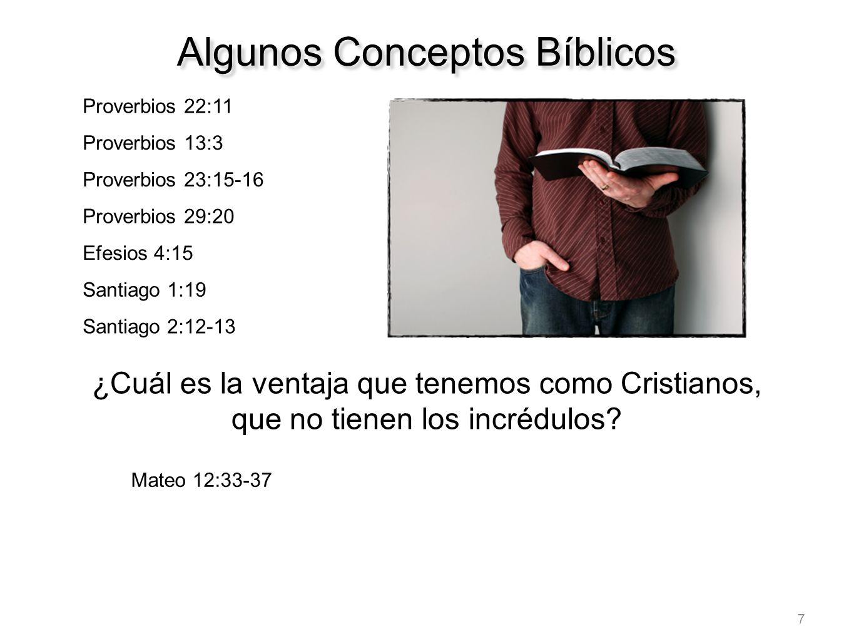 Algunos Conceptos Bíblicos