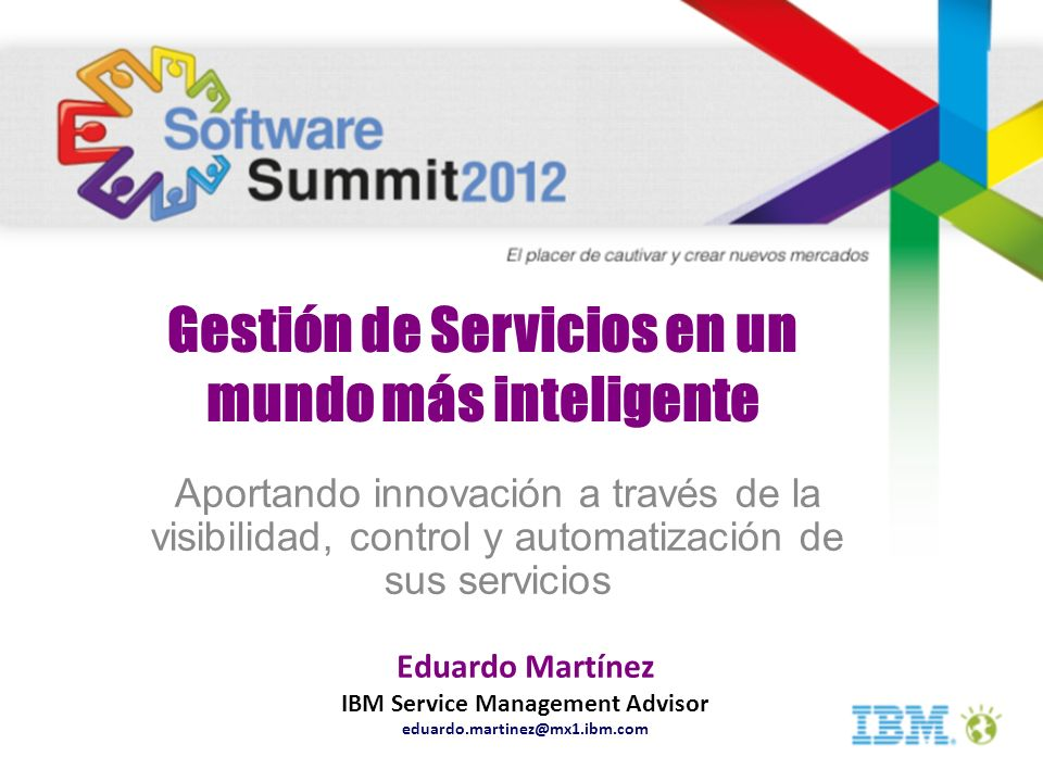IBM Service Management Advisor