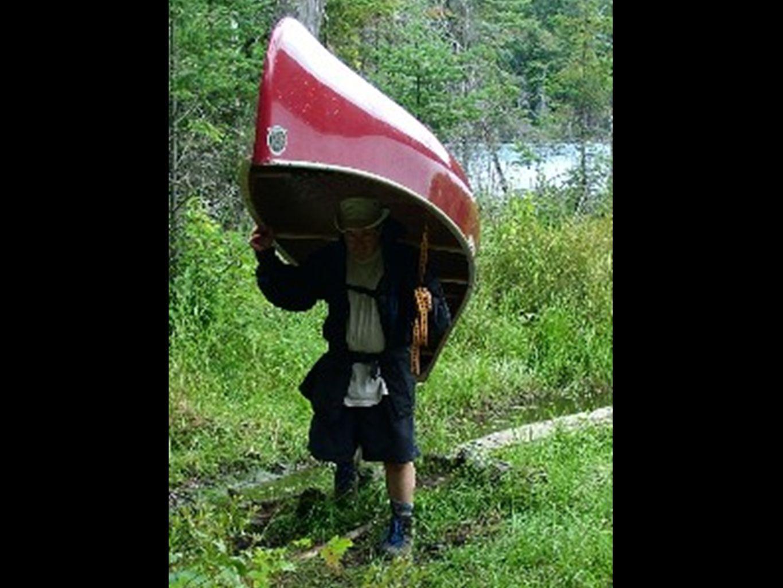 A mi, me gusta usar la ilustración de nuestros viajes anuales al Parque Provincial Algonquin en Ontario, Canadá. Pasamos 8 días llevando todo lo que necesitamos para sobrevivir. Viajamos entre 75 a 130 millas por lagos y pantanos, con sendas no bien cuidadas. Todo el día estamos remando o llevando las canoas por 8 días enteras.
