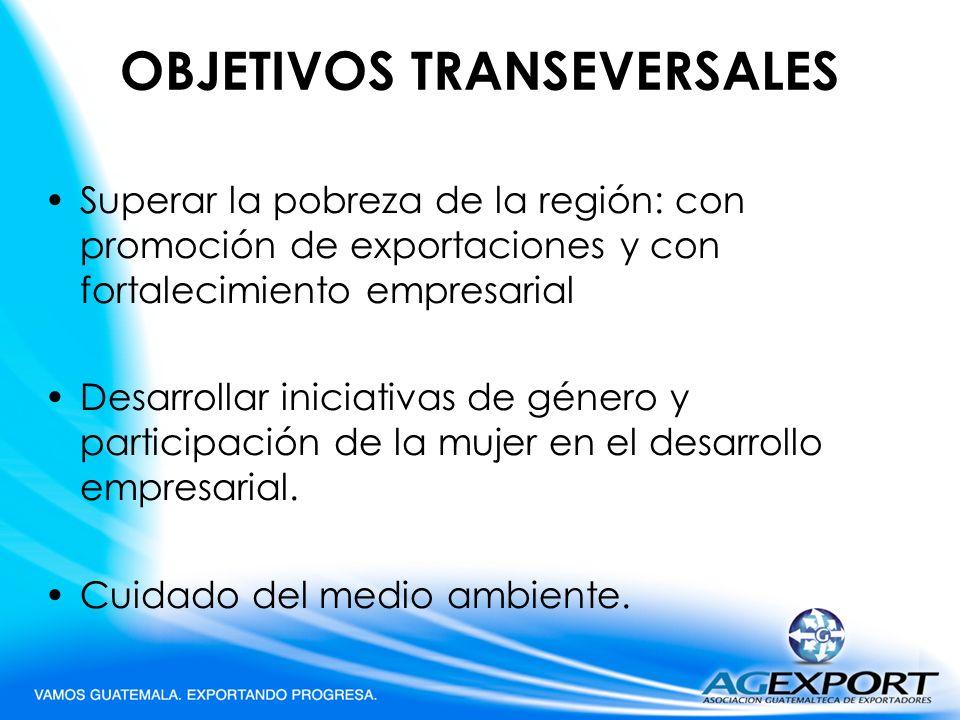 OBJETIVOS TRANSEVERSALES