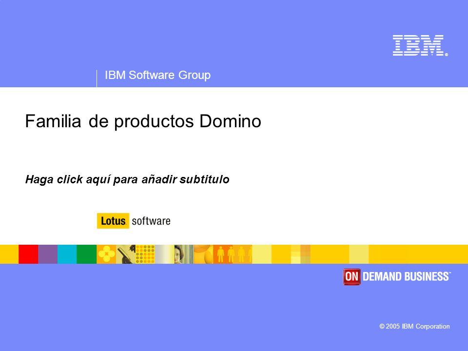 Familia de productos Domino