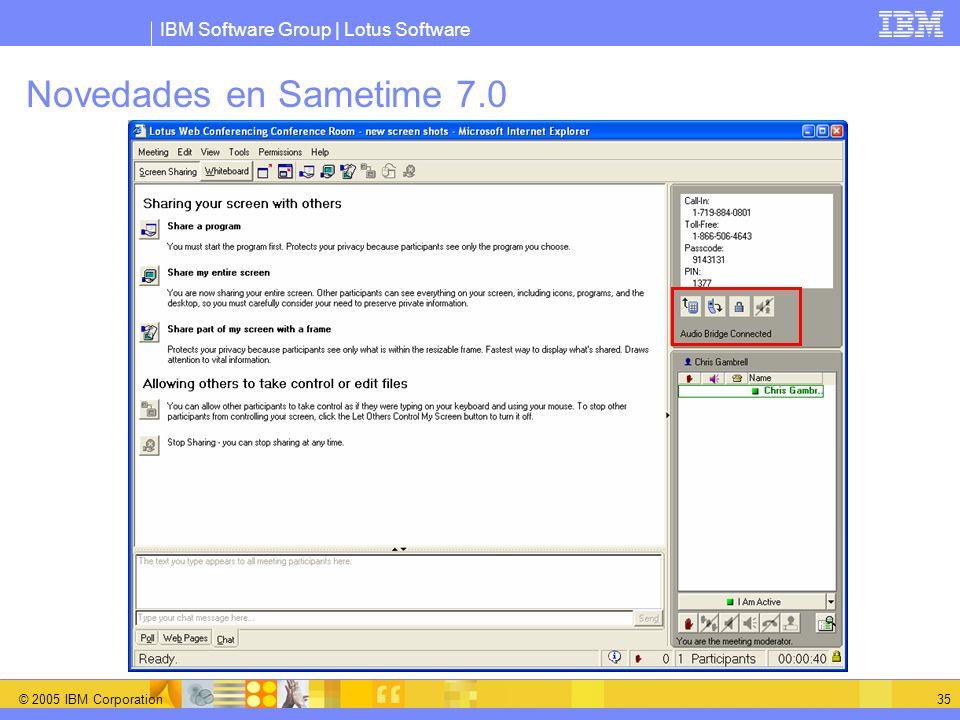 Novedades en Sametime 7.0