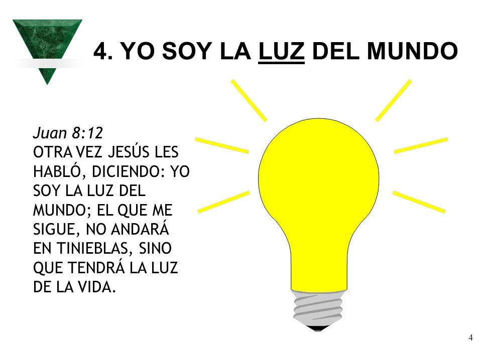 4. YO SOY LA LUZ DEL MUNDO