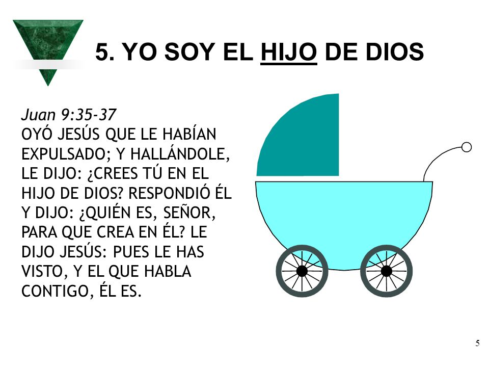 5. YO SOY EL HIJO DE DIOS