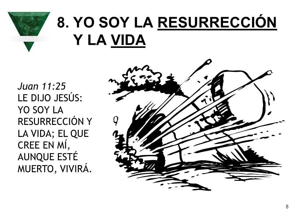 8. YO SOY LA RESURRECCIÓN Y LA VIDA