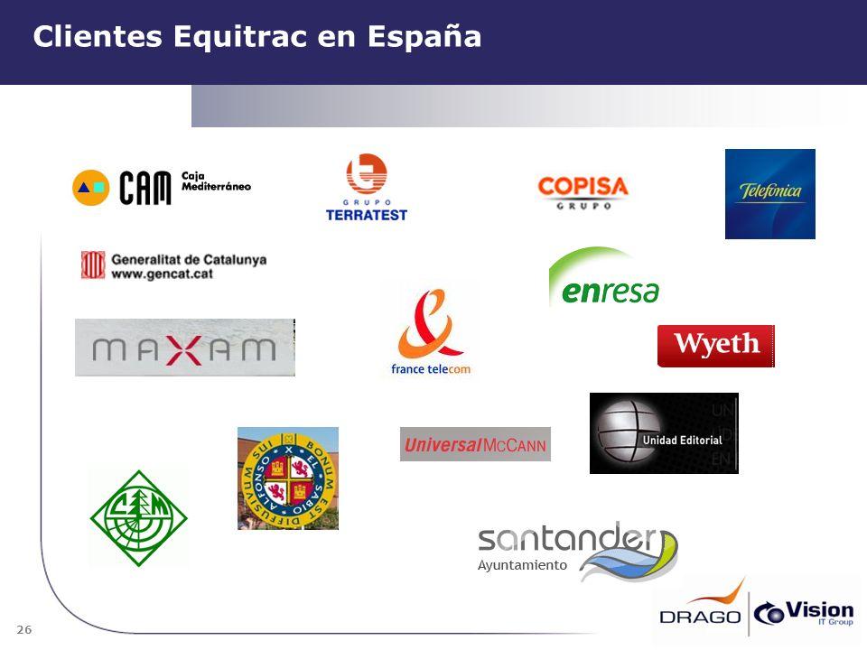 Clientes Equitrac en España