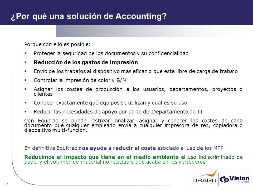 ¿Por qué una solución de Accounting