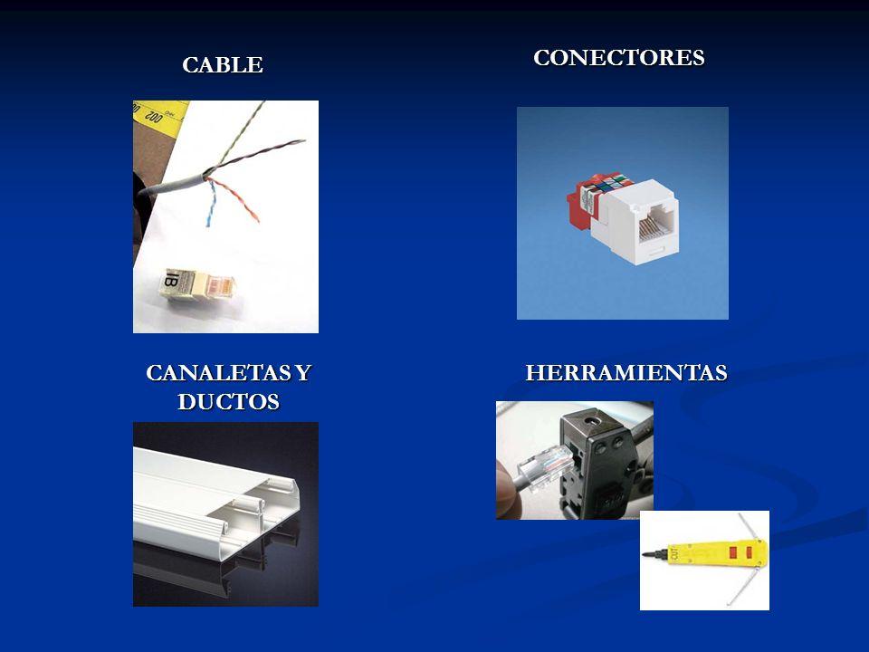 CONECTORES CABLE CANALETAS Y DUCTOS HERRAMIENTAS