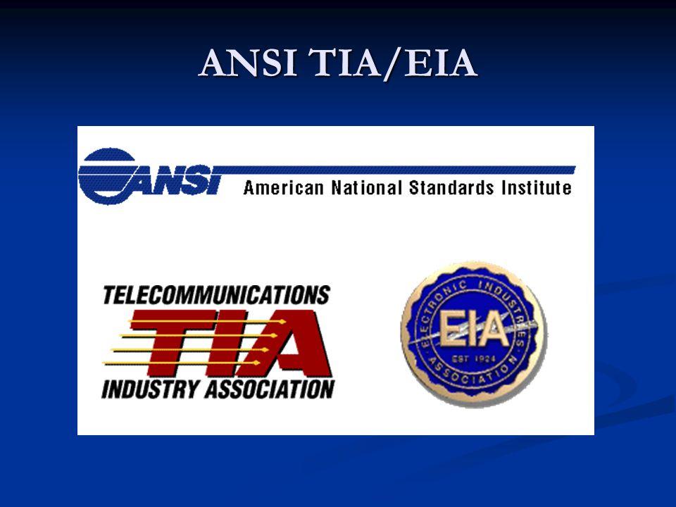 ANSI TIA/EIA