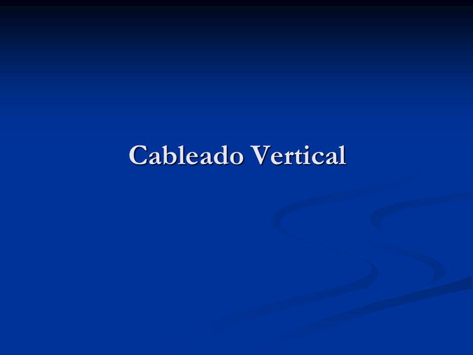 Cableado Vertical