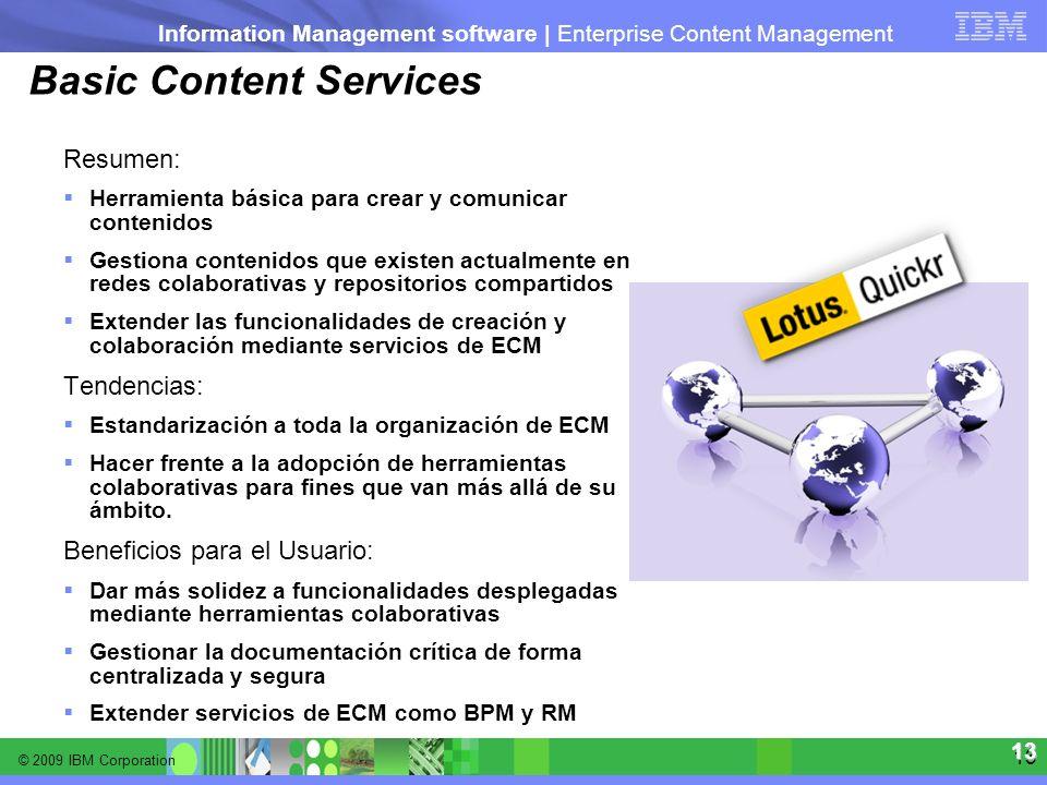 Basic Content Services